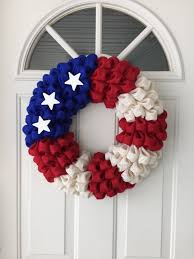 colorful burlap wreaths creative christmas decoration with