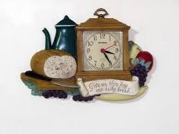 Home Decor Clocks 369 Best Very Vtg Kitchen Clocks Images On Pinterest Colors