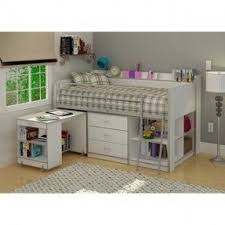 Desk Beds For Girls Girls White Loft Bed With Desk Foter