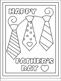 free printable fathers cards coloring cards kids