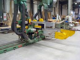 Used Woodworking Machinery Suppliers Uk by Wadkin Da64 E 12 Head Double End Tenoner 3m Capacity Used