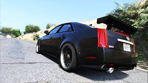 2009 cadillac cts v 2009 cadillac cts v add on replace gta5 mods com