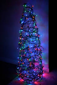 chicken wire christmas tree 3 steps with pictures