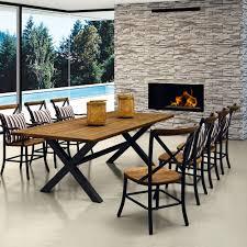deco bois brut table salle a manger bois brut massif indogate com salle a manger