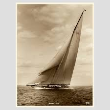 j class yacht astra early silver gelatin photographic print by