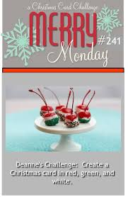 40 best cards i merry monday challenge images on