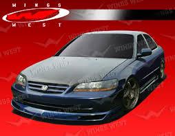 2001 honda accord fog lights 2001 2002 honda accord 4dr jpc kit polyurethane vis racing