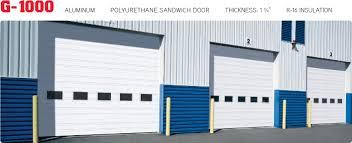 Norwood Overhead Door G 1000 Commercial Garage Doors Norwood Overhead Door