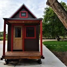 charming custom beetle kill pine tiny house on wheels tiny house