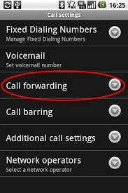 android call forwarding set up call forwarding on android operated samsung s4 s5