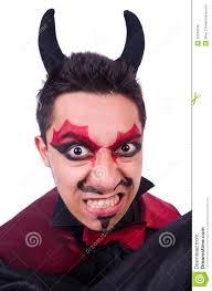 man in devil costume stock photo image 33348140