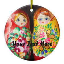 russian nesting doll ornaments keepsake ornaments zazzle