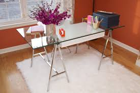 Modern Glass Desks For Home Office by Photos The High Low Project Hgtv