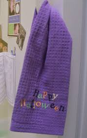 halloween dish towels my next thirty years october 2011