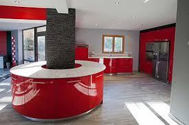 ilot cuisine rond cuisine avec ilot central arrondi agrandir une cuisine ouverte