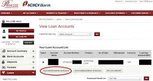 personal loan amortization table dear rupee the personal finance guide free icici bank personal