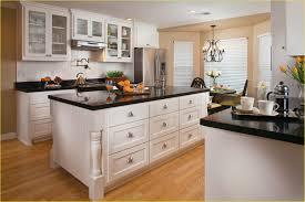 kitchen backsplash white cabinets dark floors kitchen crafters