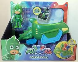 disney jr pj masks gekko gekko mobile vehicle figure u2013 mo u0027s