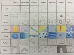 design elements matrix elements and principles of art mrs goodman s art room