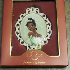 new disney parks tiana lenox christmas ornament u2022 29 99 picclick