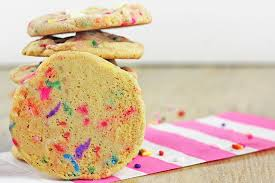 sprinkles birthday cake cookies dinner then dessert