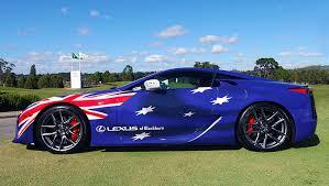 lexus hs australia interesting matte pink wrap and australian flag wrap clublexus