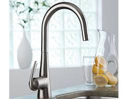 robinets cuisine grohe robinet de cuisine monotrou ladylux 3 pro avec douchette rétractable