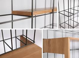 Desk And Bookshelf Combo Desk Shelves Combo By Gompf And Kehrer