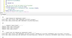 find all foreign keys referencing a table sql server foreign key constraint sqlhints com