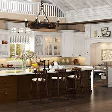 Wood Kitchen Furniture Op15 S01 Traditional Oak Wood Kitchen Cabinet