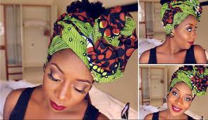 video tutorial turban style ankara head wrap tutorial youtube