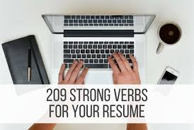Key Verbs For Resume Ist 110 Science Fiction Essay Proper Resume Structure Top