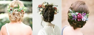fleurs cheveux mariage braid la mariée en colère mariage grossesse voyage de noces