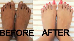 diy pedicure at home dark brown tan feet minniedas youtube