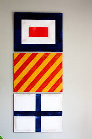 nautical flag painted nautical signal flags for boys room decor u2022 whipperberry