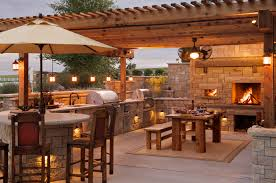 stunning outdoor kitchen bar with best bars ideas trends pictures