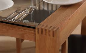6 seater oak dining table glass and oak dining room table dining room decor ideas and