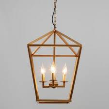 Two Golden Rings Bead Chandelier Pendant Lighting Light Fixtures U0026 Chandeliers World Market