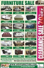 arv furniture flyers flyers written