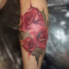 mero watercolor roses watercolor roses nose nativesoultattoo mero