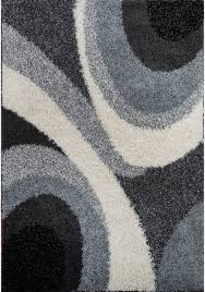 Solid Black Area Rugs Shag Rugs Modern Area Rug Contemporary Abstract Or Solid Shaggy