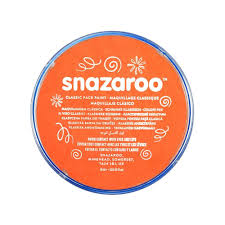 Orange Paint by Snazaroo Face And Body Paint 18 Ml Orange Individual Colour
