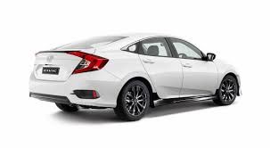 honda civic 2016 sedan 2016 honda civic sedan gets sporty black pack option in australia