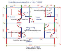 3 bedroom house plan enchanting free 3 bedroom bungalow house plans ideas best