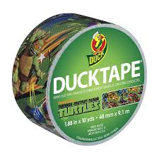 amazon com duck brand 281869 licensed duct tape teenage mutant