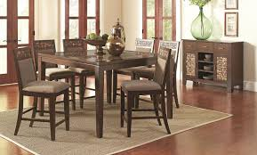 counter height dining room set provisionsdining com