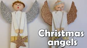 diy christmas crafts christmas angel ana diy crafts youtube
