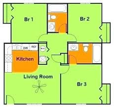 four bedroom floor plans simple four bedroom house plans simple 3 bedroom floor plan simple 3