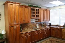 kitchen glamorous maple kitchen cabinets with black appliances