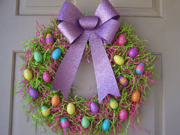 how to make easter wreaths decorating your own make 50 easter decor ideas with easter eggs